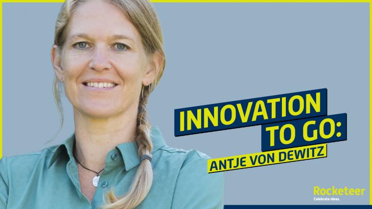 Antje von Dewitz bei Innovation To Go