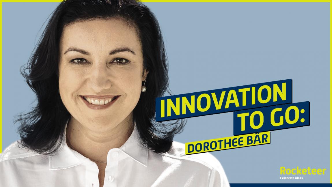 Dorothee Bär bei Innovation To Go