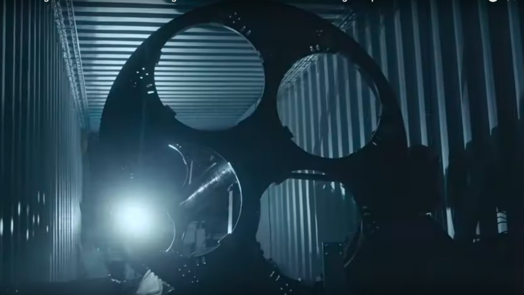 Die Tunnelbohrmaschine des Münchner Teams TUM Boring
